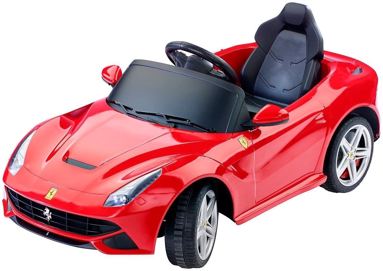 ferrari kinderfahrzeug modell f12 im praxistest. Black Bedroom Furniture Sets. Home Design Ideas